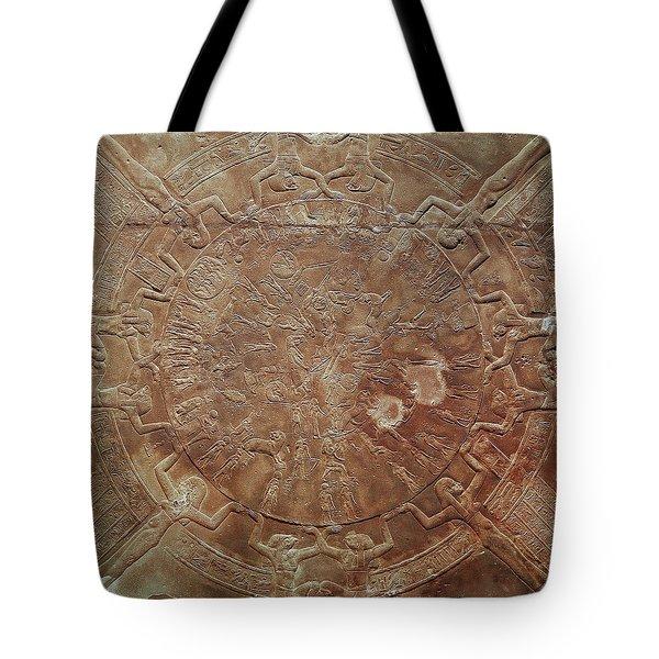 Egyptian Celestial Sphere Tote Bag by Granger