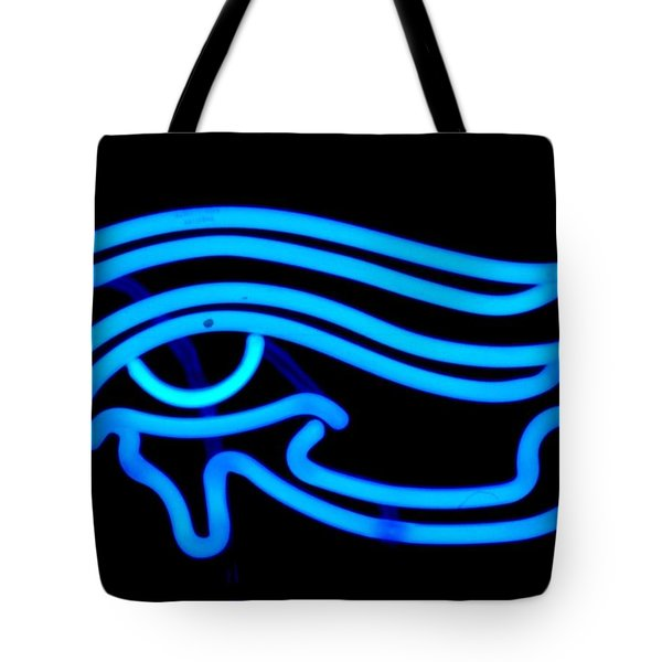 Egyptian Secret Eye Tote Bag by Pacifico Palumbo