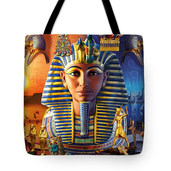 Egyptian Triptych 2 Tote Bag