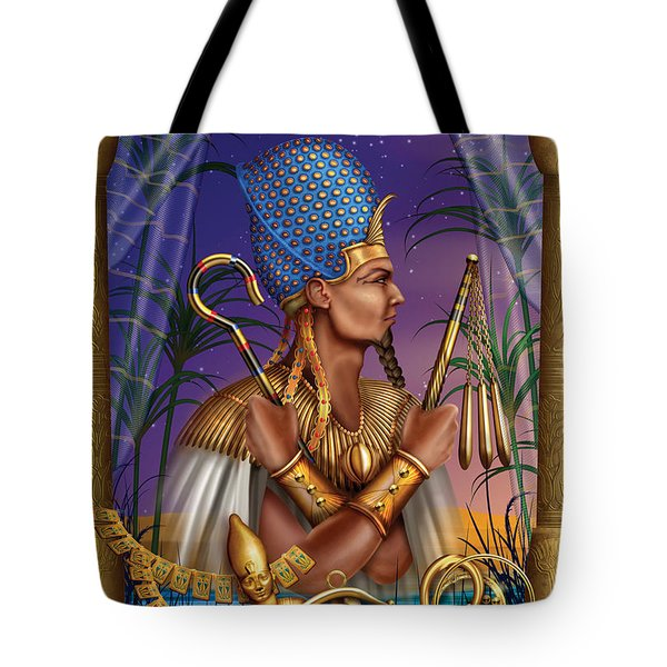 Egyptian Triptych Variant I Tote Bag by Ciro Marchetti