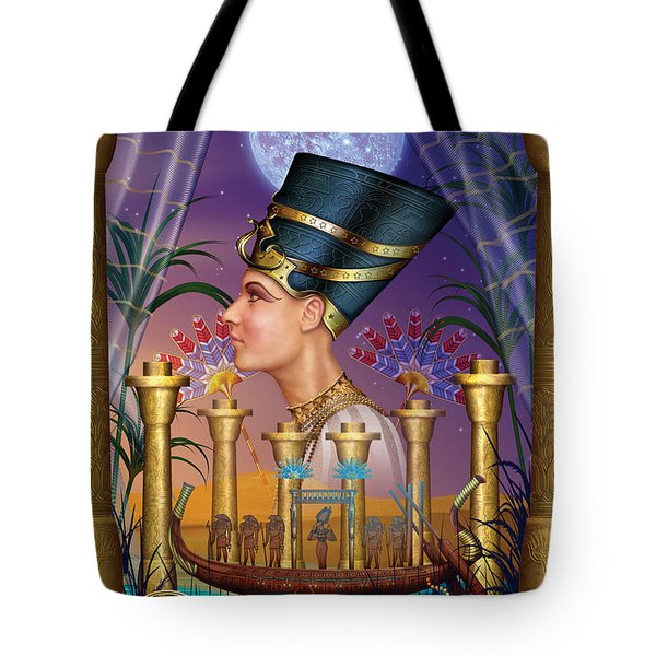 Egyptian Triptych Variant IIi Tote Bag by Ciro Marchetti