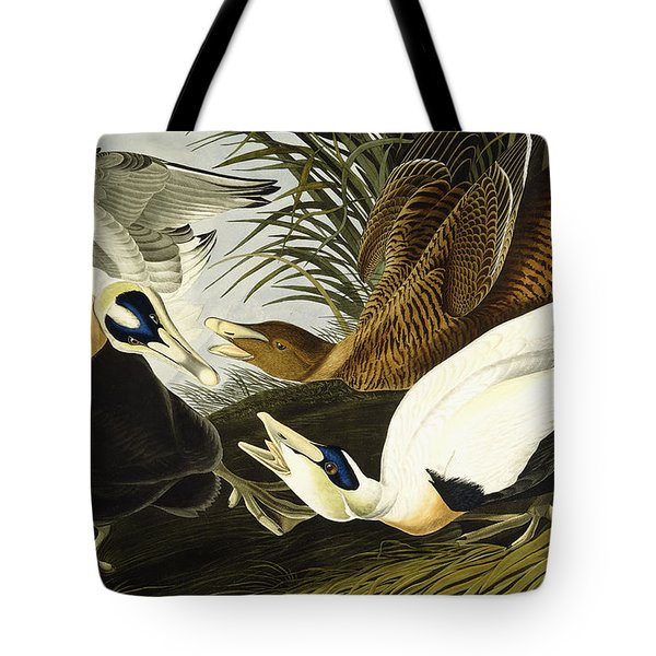 Eider Ducks Tote Bag