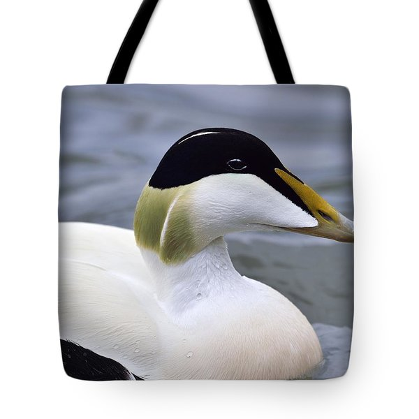 Eider Up Tote Bag by Tony Beck
