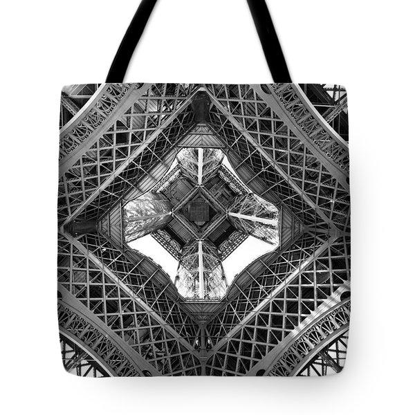 Eiffel Abstract Tote Bag