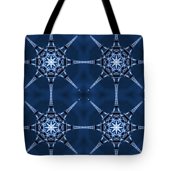 Eiffel Art 6 Tote Bag by Mike McGlothlen