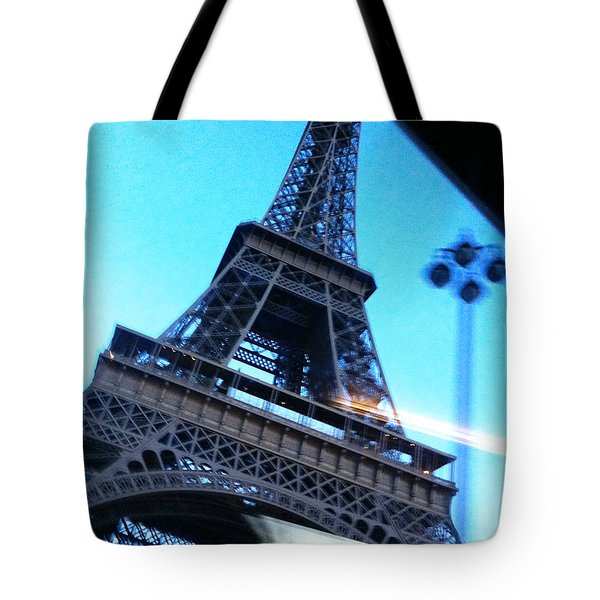 Eiffel In Motion Tote Bag