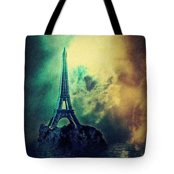 Eiffel Lighthouse Tote Bag