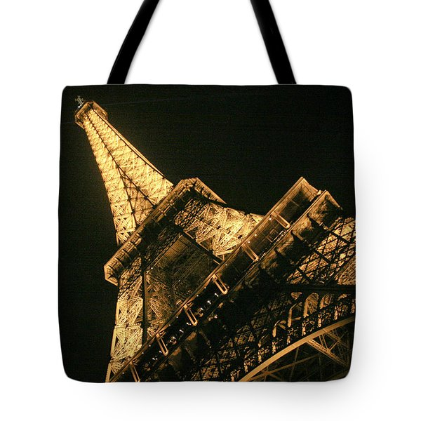 Tote Bag featuring the photograph Eiffel by Silvia Bruno