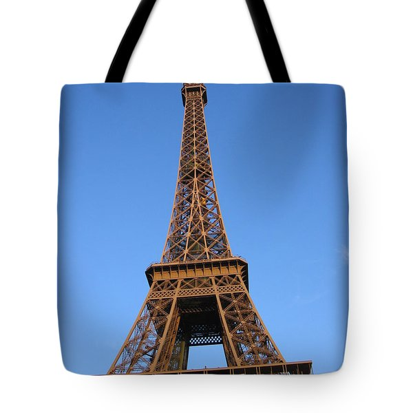 Tote Bag featuring the photograph Eiffel Tower 2005 Ville Candidate by HEVi FineArt