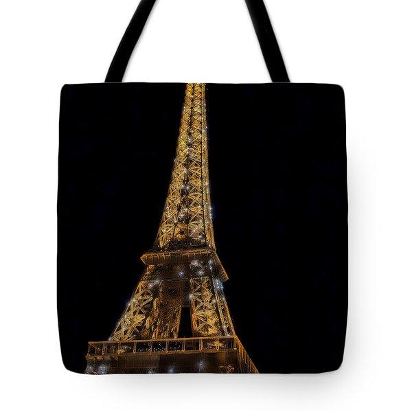 Eiffel Tower 4 Tote Bag