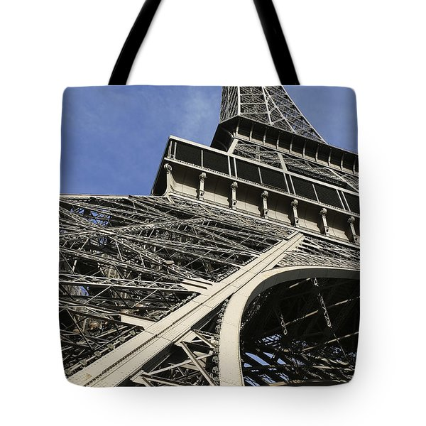 Tote Bag featuring the photograph Eiffel Tower by Belinda Greb