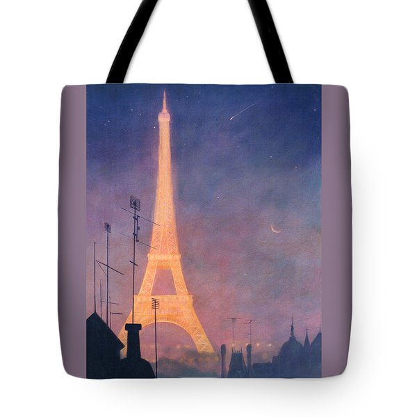 Eiffel Tower Tote Bag by Blue Sky