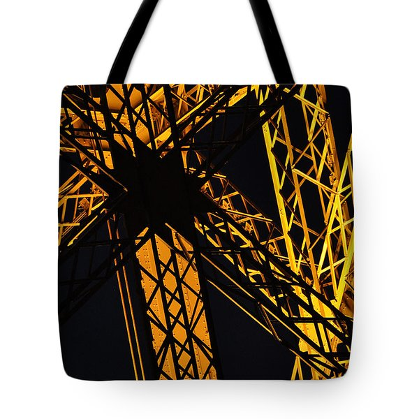 Eiffel Tower Detail Tote Bag