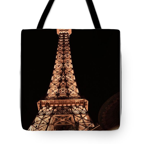 Eiffel Tower Light Up My Dreams Tote Bag
