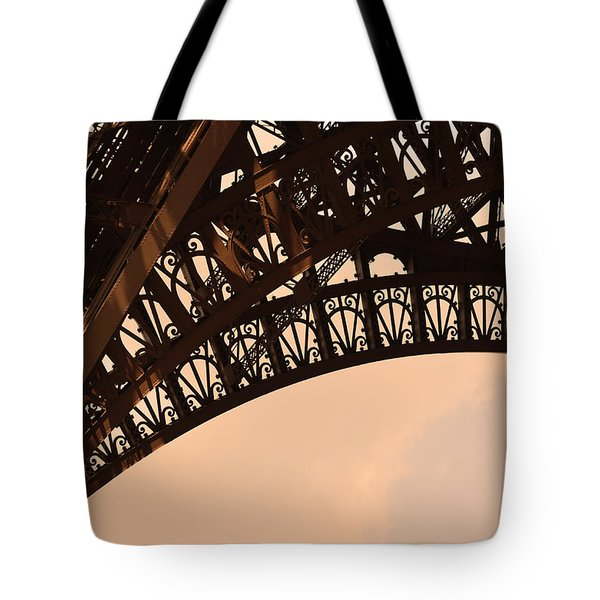 Eiffel Tower Paris France Arc Tote Bag by Patricia Awapara
