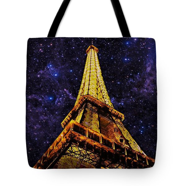 Eiffel Tower Photographic Art Tote Bag