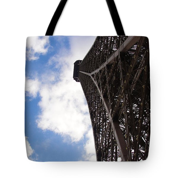 Tote Bag featuring the photograph Eiffel Tower by Tiffany Erdman
