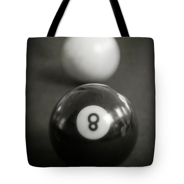 Eight Ball Tote Bag by Edward Fielding