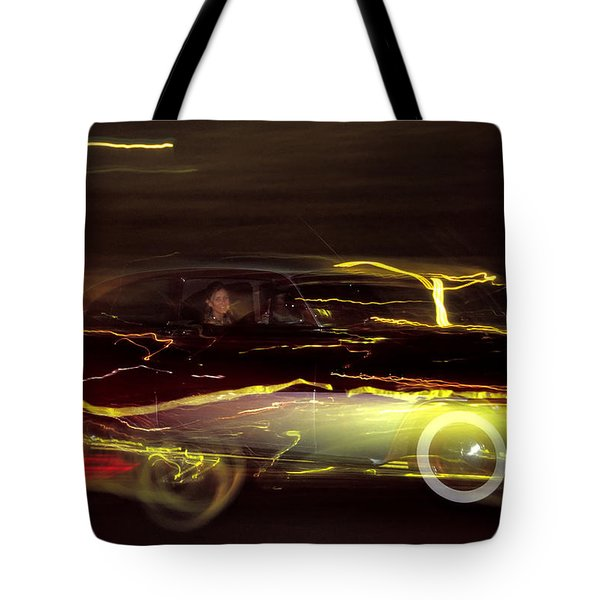 Eighty Eight Miles Per Hour Tote Bag by Jason Politte