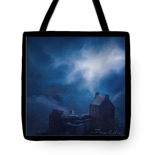 Eilean Donan Castle Tote Bag by James Christopher Hill