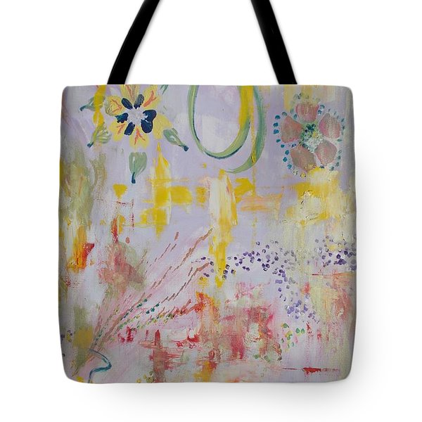 Tote Bag featuring the painting Eileens Wedding by PainterArtist FIN