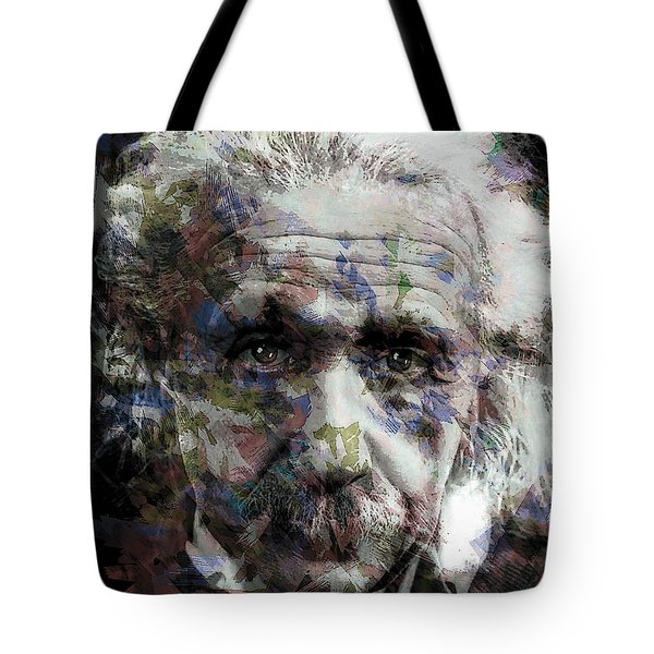 Einstein Genius Tote Bag