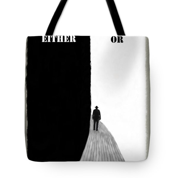 Either Or Tote Bag