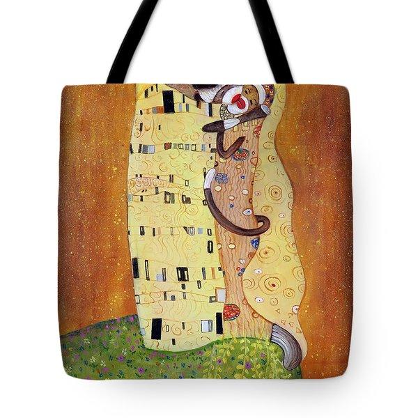The Smooch Tote Bag by Randy Burns