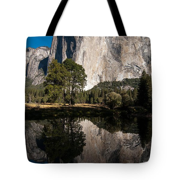 El Capitan In Yosemite 2 Tote Bag