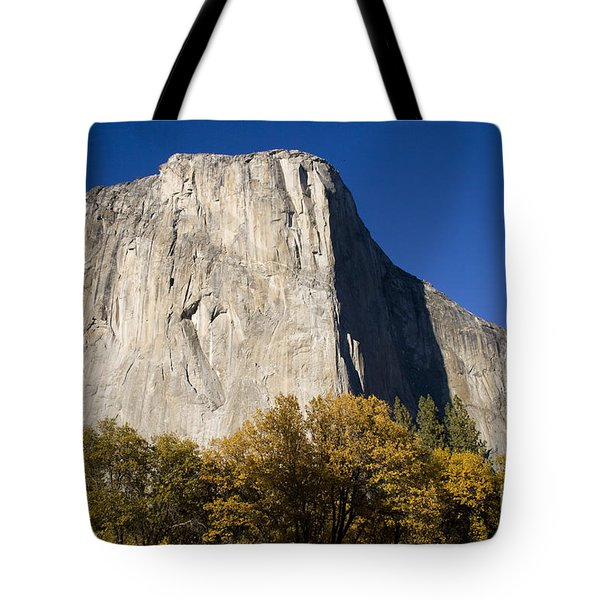 Tote Bag featuring the photograph El Capitan In Yosemite National Park by David Millenheft
