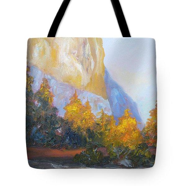 El Capitan Light Tote Bag by Carolyn Jarvis