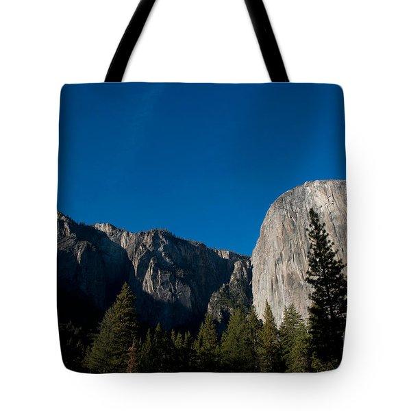 El Capitan, Yosemite Np Tote Bag by Mark Newman