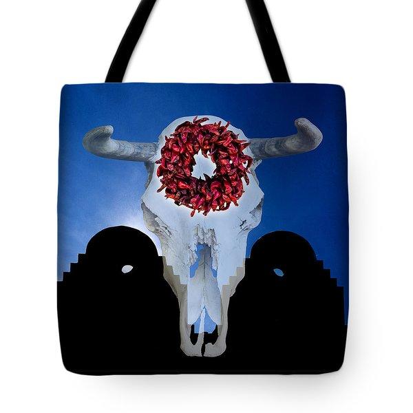 El Dia Los Muertos In Santa Fe Tote Bag