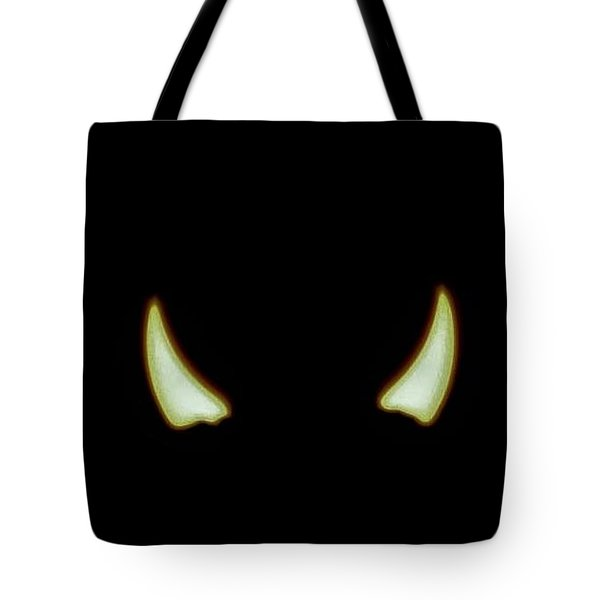 Tote Bag featuring the photograph El Diablo by Angela J Wright