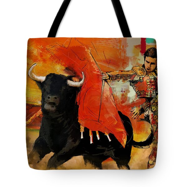 El Matador Tote Bag by Corporate Art Task Force