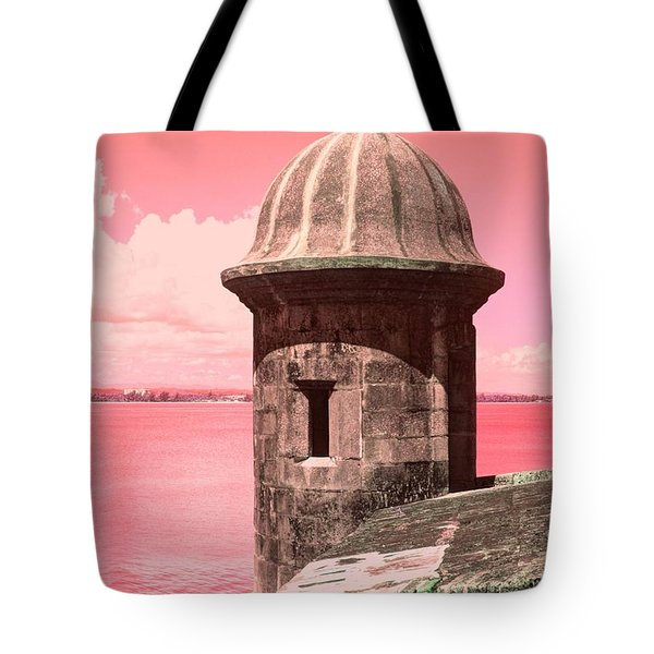 El Morro In The Pink Tote Bag