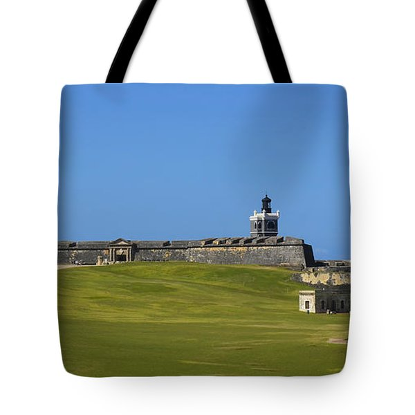 El Morro Panorama Tote Bag