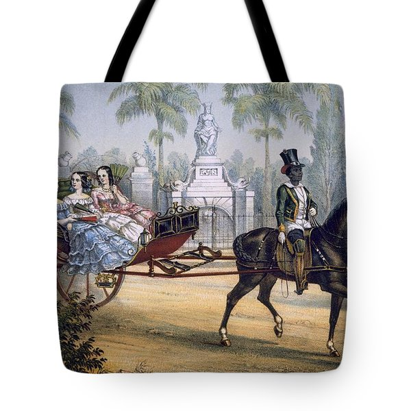 El Quitrin, Cuba Tote Bag by Spanish School