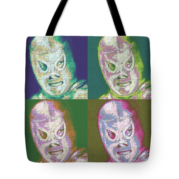 El Santo The Masked Wrestler Four 20130218 Tote Bag