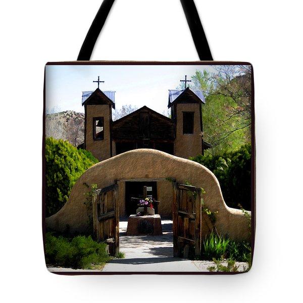 El Santuario De Chimayo Tote Bag