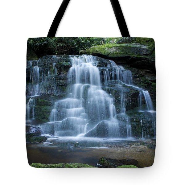 Elakala Falls Number 2 Tote Bag by Shelly Gunderson