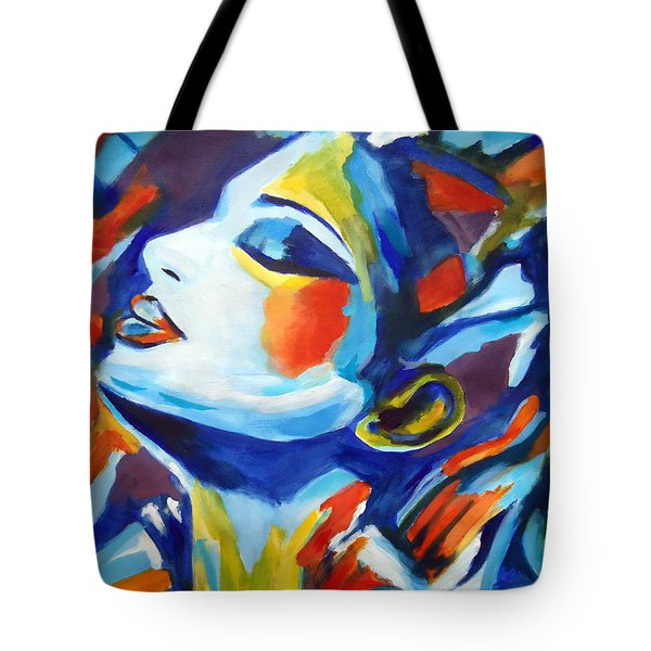 Tote Bag featuring the painting Elation by Helena Wierzbicki