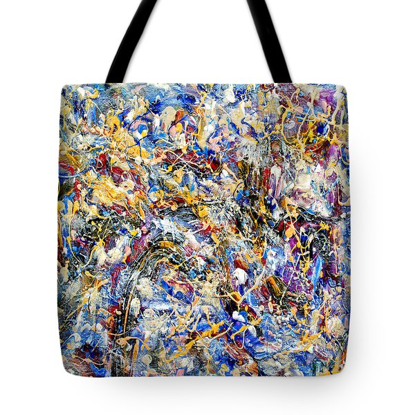 Tote Bag featuring the painting Eldorado by Dominic Piperata