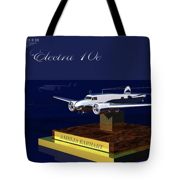 Tote Bag featuring the digital art Electra 10e by John Pangia