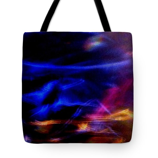Tote Bag featuring the photograph Electric Chaos by Mike Breau