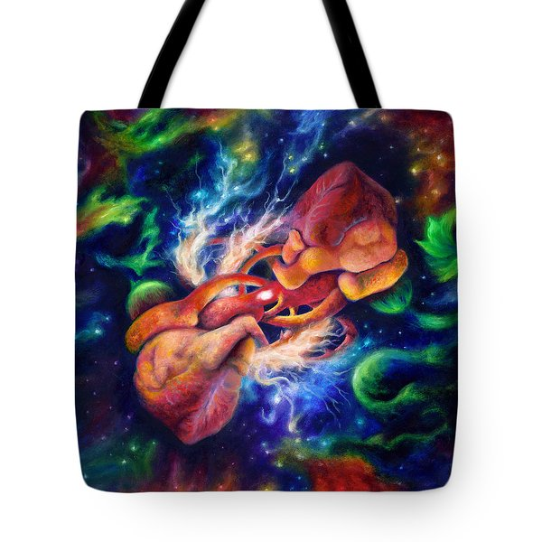 Electric Desire Tote Bag by Kd Neeley