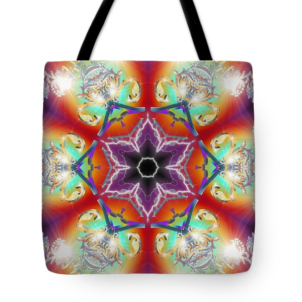 Electric Enlightenment Tote Bag