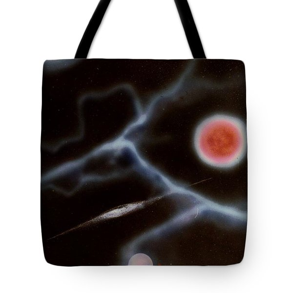 Electric Flesh Tote Bag