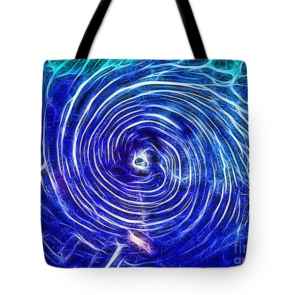 Electric Glass Light 4 Tote Bag