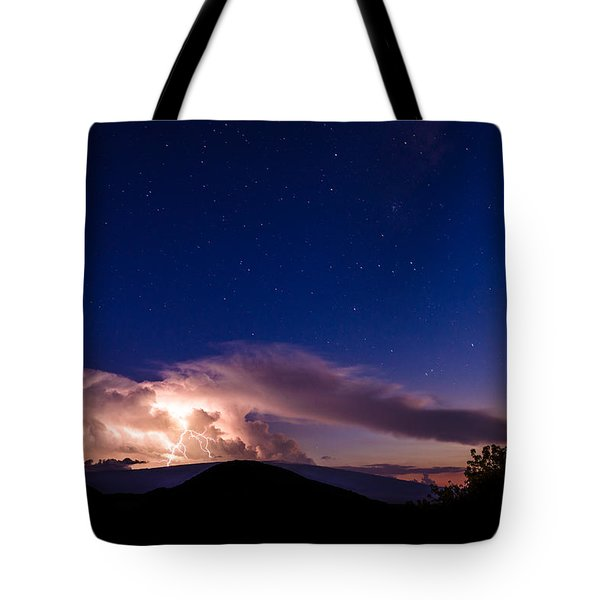 Electric Heavens 1 Tote Bag
